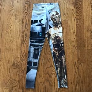 Blackmilk Star Wars R2D2 C3PO Leggings